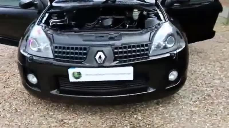 Renault Clio 3 0 V6 5 Speed Manual in Black Gold with V6 Quicksilver Exhaust Sys