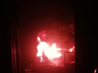 Пожар в Дзержинском