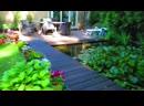 Наш сад ранним утром дышит покоем . Поют птички....Наш маленький Рай.