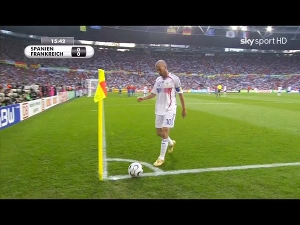 Zinedine Zidane The Most Creative Smart Plays