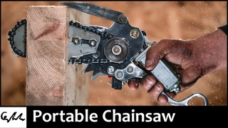 Making a mini chainsaw