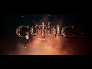Gothic playable teaser announce trailer