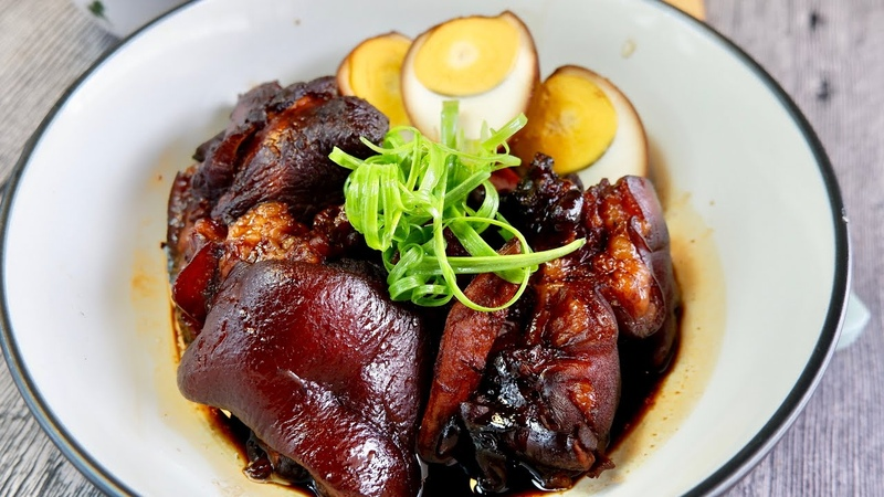 Everyone said YUM Super Easy Pig Trotter Vinegar 猪脚醋 Chinese Confinement Food Recipe w Pork