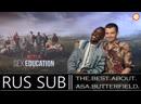Asa Butterfield and Ncuti Gatwa chat Sex Education season 2