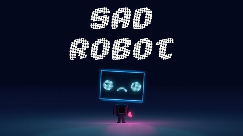 Vexento Sad Robot