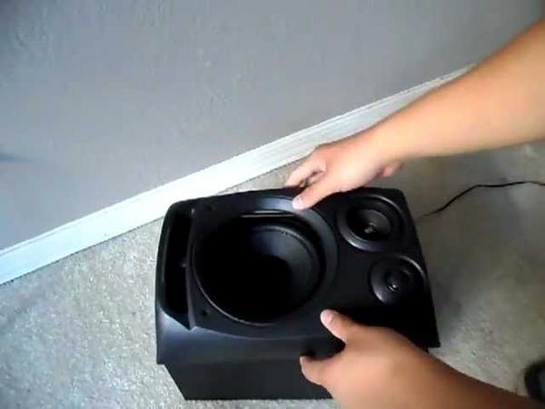 Video Re-Do: Aiwa SX-NV30 Speaker Take Apart
