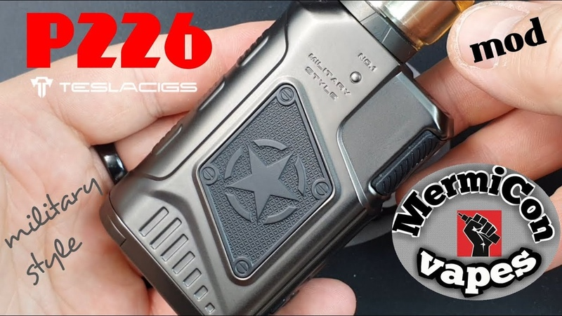 P226 Mod by Teslacigs Ελληνική Παρουσίαση Greek review