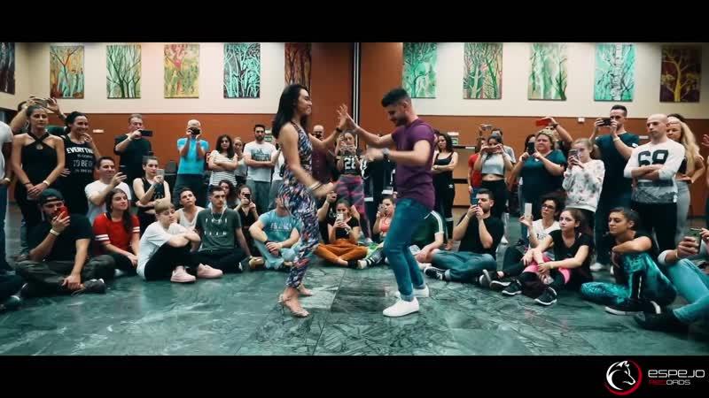 Xtreme - я скучаю по тебе / Танцуют романтическая пара Луиса и Андреа, семинар бачата 2018 . Композиция: El Canto de la Sirena