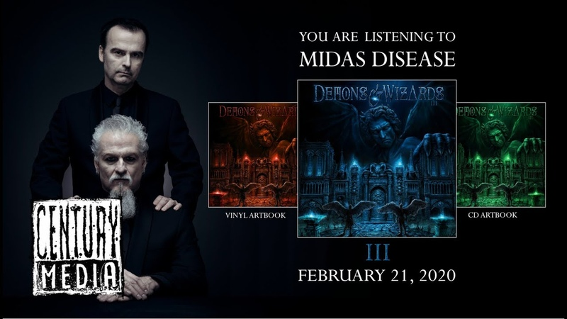DEMONS WIZARDS - Midas Disease (Album Track)