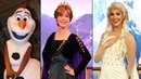 Anna and Elsa in New Frozen 2 Costumes at Epcot Meet and Greet Plus Olaf Surprise Meet in Queue!