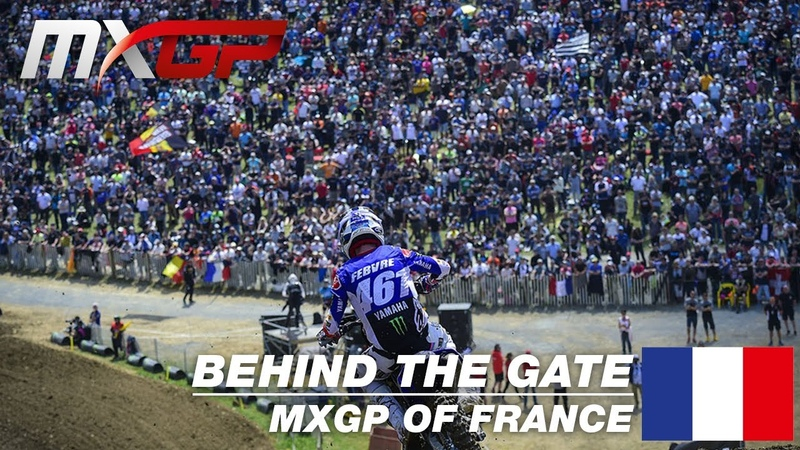 Behind the Gate MXGP of France 2019 Motocross