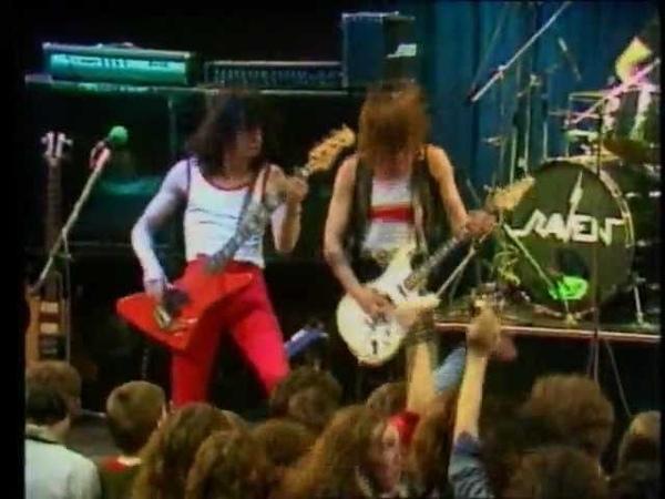 Raven - Chainsaw - BBC TV