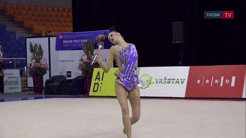 Alina Harnasko BLR mazas Grand Prix Brno 2020