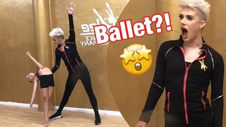 James Charles learns BALLET with Lilly K and Abby Lee Miller! What!! Totally UNSEEN FOOTAGE!