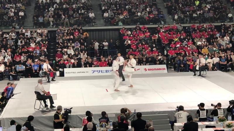 Igor Zagainov - Shohei Kamada (12th Open World Cup November 2019)