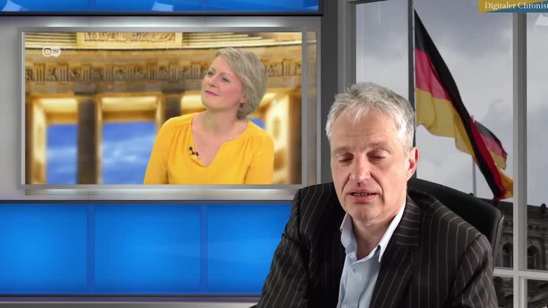 Frey (ZDF) in der Diskussion _Pressefreiheit in Gefahr_ - Harald Martenstein sagt komische Sachen