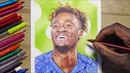 Tammy ABRAHAM Ballpoint Pen Drawing CHELSEA FC DeMoose Art