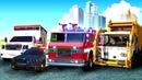 Мультфильмы про машинки. Герои нашего города. Сборник для мальчиков