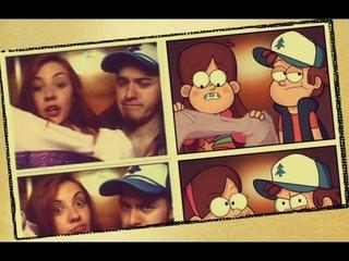 Gravity Falls: Alex and Ariel Hirsch