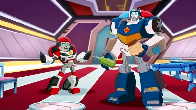 Transformers Rescue Bots Academy Episode 34 Life of the Party