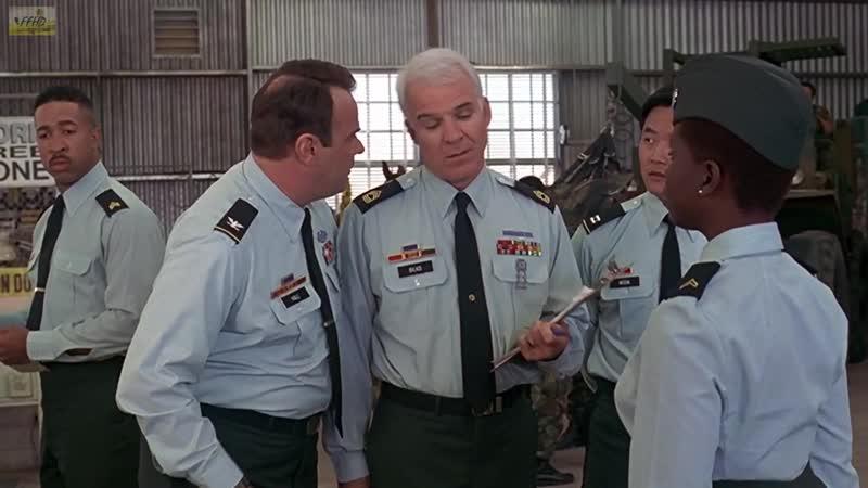 Начальство Сержант Билко Sgt Bilko 1996 Фрагмент из фильма