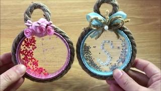 فكرة لصنع هدية عليها أحرف تصلح للمولود أو ل&#