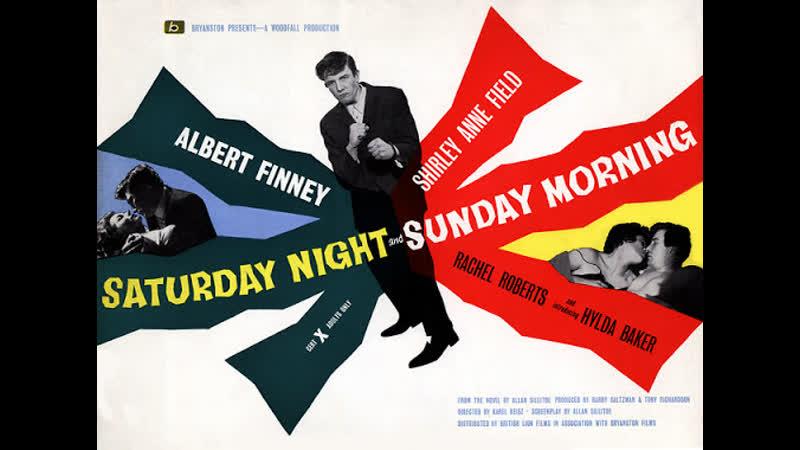 Saturday Night and Sunday Morning 1960 Albert Finney Shirley Anne Field Rachel Roberts