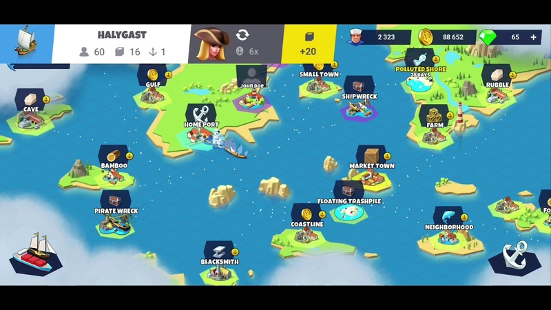 Seaport - Explore, Collect Trade Iphone/Ipad/Android Gameplay 72 1080p