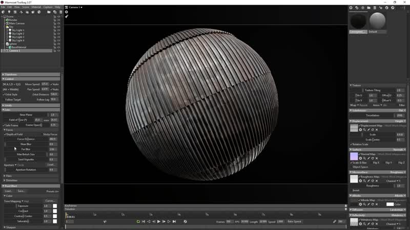 Quixel Mixer Material Rendering with Toolbag 3