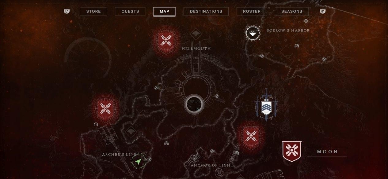 Destiny 2 купольное здание на карте