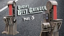 Go Kart Belt Grinder Part 5 Shifter Lifter Belt Tracker Fender VFD