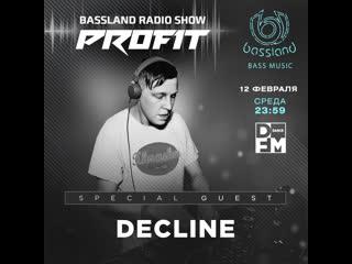 Bassland show @ dfm () special guest decline