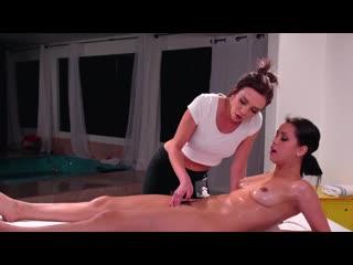 Tiffany Watson and Alina Lopez [oil, massage, lesbi porno, pussy licking, porno HD, lesbian, fingering] +18
