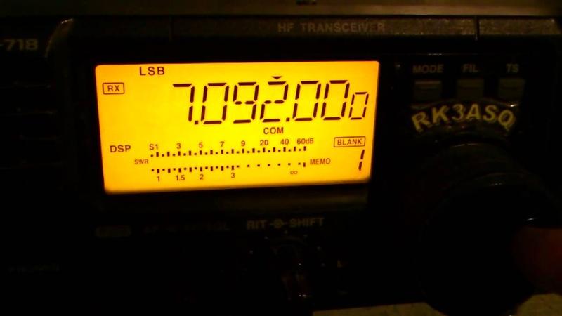 ICOM ic-718 upgraded by RZ3CC.mp4