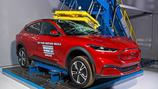 Mustang Mach-E | Safe Electric SUV? | Crash and Safety Test