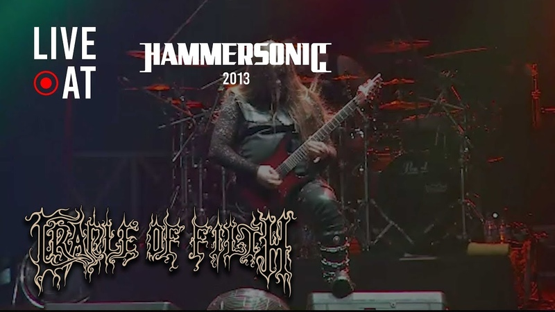 Cradle Of Filth Nymphetamine Fix Live at Hammersonic 2013