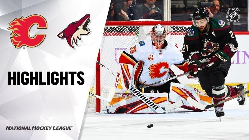 Аризона - Калгари / NHL Highlights | Flames @ Coyotes 11/16/19
