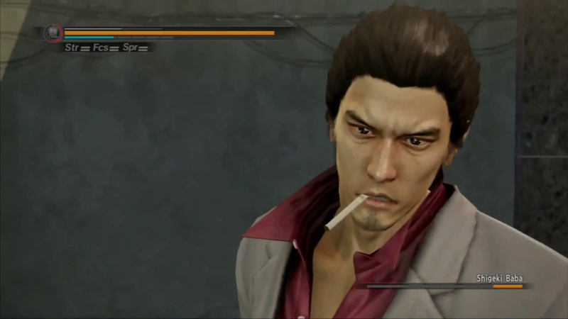 Yakuza 5 - Kiryu Vs Baba ( Time To Smoke Edition) - No Damage, no weapons EX HARD