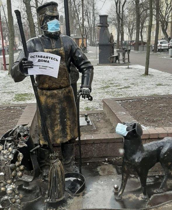 Погода преподнесла сюрприз - в Беларуси (и Бресте тоже) выпал снег