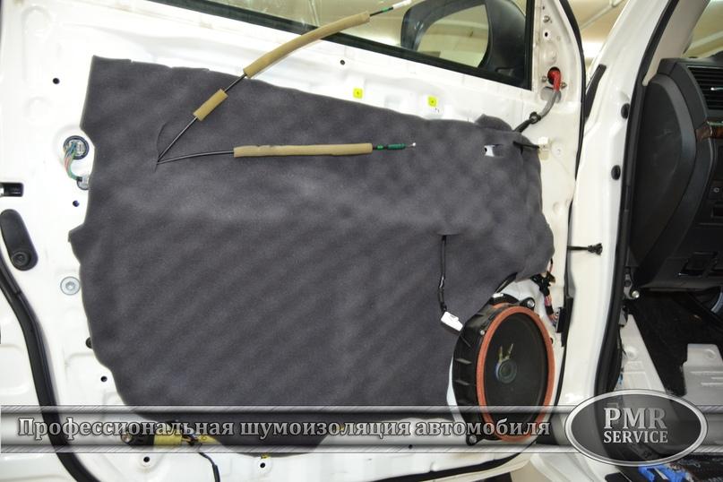 Комплексная шумоизоляция Toyota Land Cruiser 200, изображение №15