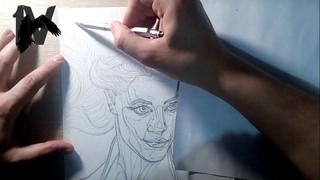 Эмбер Хёрд в образе Меры из Аквамена 2018