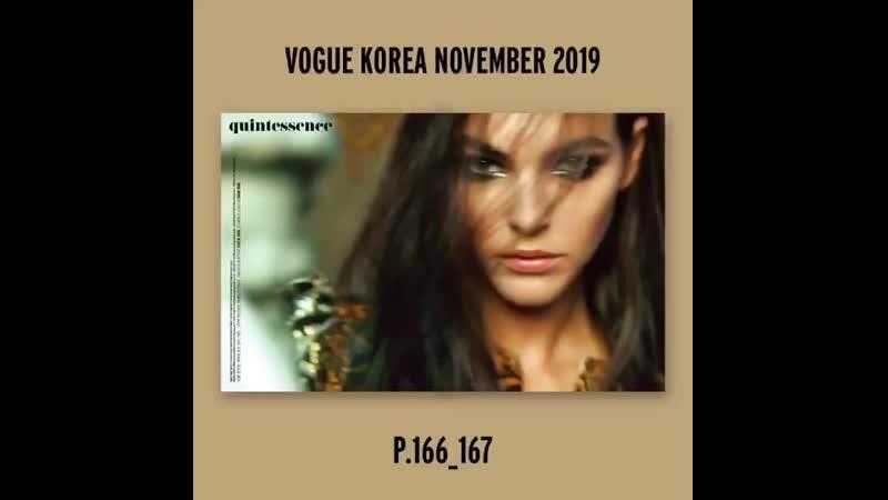 Jennie Lisa @ Vogue Korea (nov2019) preview