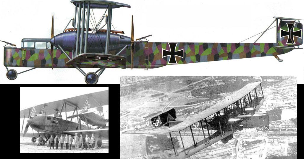 Немецкий самолет-бомбардировщик