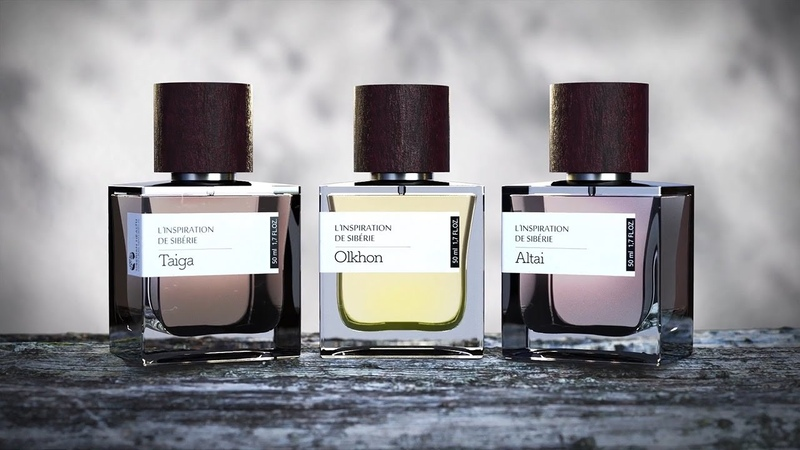 Серия селективных парфюмов L'Inspiration de Siberie. Вдохновленные Сибирью!