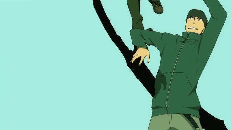 Durarara 1 Season 1 Ending 『Matsushita Yuuya Trust Me』 Дюрарара Сезон Эндинг Creditless