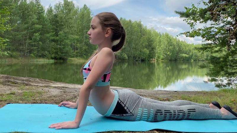 Outdoor Yoga 15 Minute Morning Yoga Sequence Yoga With Anastasiya Frolikova