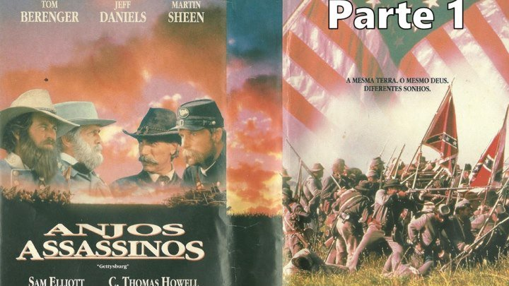 Gettysburg ou Anjos Assassinos (1993) de Ronald F. Maxwell - Parte 1