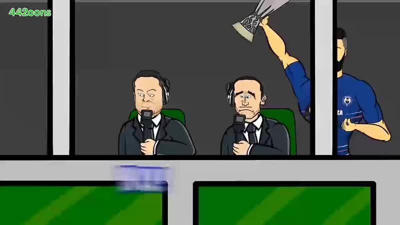 🏆4 1 GIROUD Chelsea vs Arsenal🏆 Europa League Final 2019 Parody Goals Highlights 0 mp4