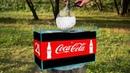 Experiment: Giant Mentos Balloon Put in Coca Cola