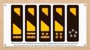 Знаки различия армейских офицеров Земного альянса экипажа Babylon-5